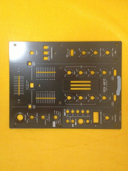 [BELLA]Original   DJM-400 DJM400 mixer fader black iron panel   vertical cutting