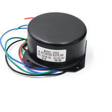 115V 230V 30w Full Shield Irrigation Seal Toroidal transformer Double AC15V 0 15V + single 9V with shield case audio transformer