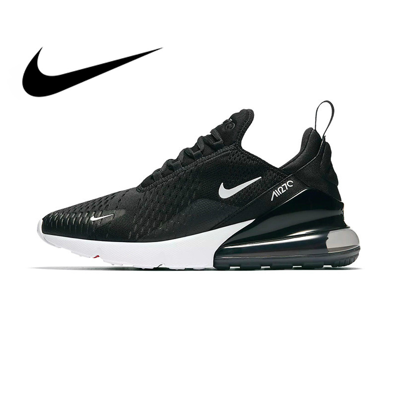 US $68.6 62% OFF|Original Nike Air Max 270 Mens Running Shoes Sneakers Sport Outdoor Wear Resistant Comfortable Breathable Jogging Sneakers in Running