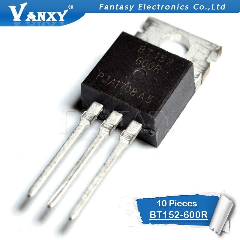 10PCS BT152-600R TO-220 BT152-600 TO220 BT152 152-600R