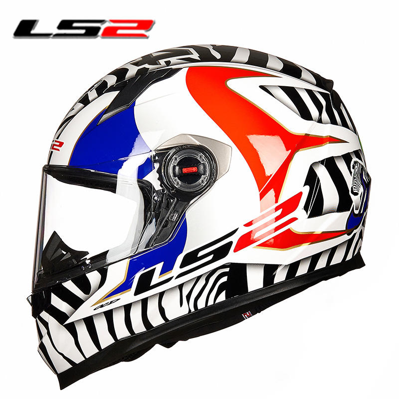 New color LS2 ff358 full face motorcycle helmet motociclista racing moto helmet original capacetes ls2 motorcycle helmets free shipping genuine sports car limited edition motorcycle helmet full helmet ls2 motorcycle oem red and white illusion