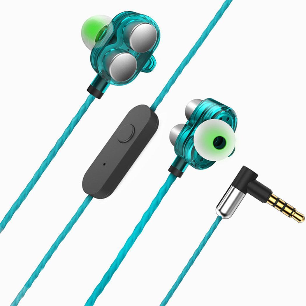 Metal Hi-Fi Stereo Wired Earbuds In-Ear Casual 123dB Earphone Music 32 0.1 (%) Headphone with Mic Dynamic