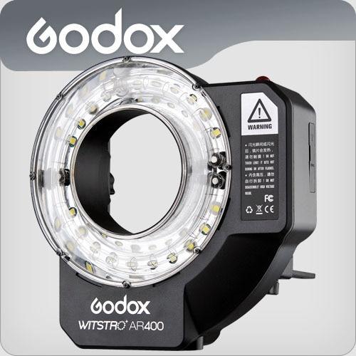 Godox Witstro AR400 400W Bateria Li-jonike HSS 2in1 Unazë Flash - Kamera dhe foto - Foto 4