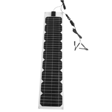 Paneles Solares 40w Flexible Solar Panel 12v 20w 2 Pcs Battery Charger Phone Rv Camp Caravan Car Outdoor