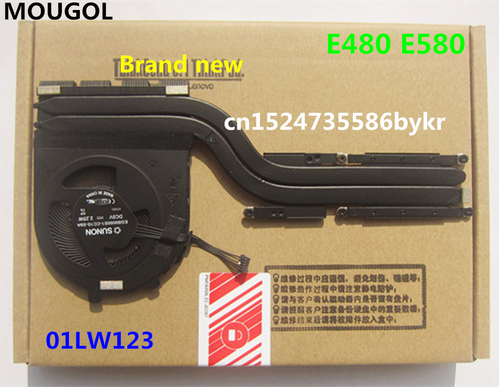 New Cooling Fans Heatsink  For  IBM Thinkpad E480 E580  01LW123