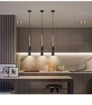 LukLoy السرير قلادة أسفل الخفيفة معلقة مطبخ معلق مصباح LED بقعة إضاءة الصمام أسفل الخفيفة قابل للتعديل النازل Hanglamp 1