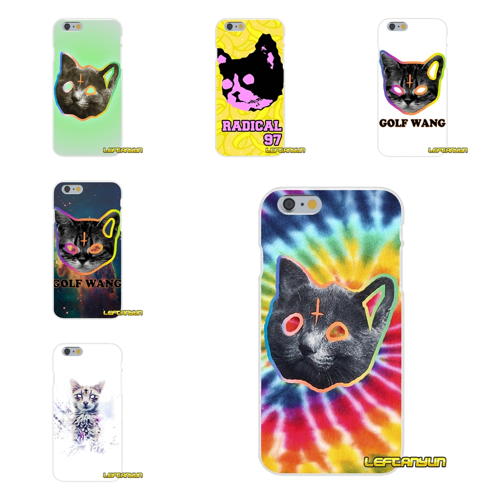Odd Future Golf Space Cat Logo Soft Silicone phone Case For Motorola Moto G LG Spirit G2 G3 Mini G4 G5 K4 K7 K10 V10 V20