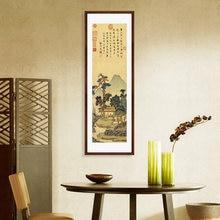A China tradicional chá pintura sem moldura pintura da sala pintura de rolagem