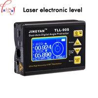 37 в цифровой дисплей двухосный Инклинометр TLL 90S Мини Профессиональный высокоточный лазерный электронный измеритель уровня 1 шт.