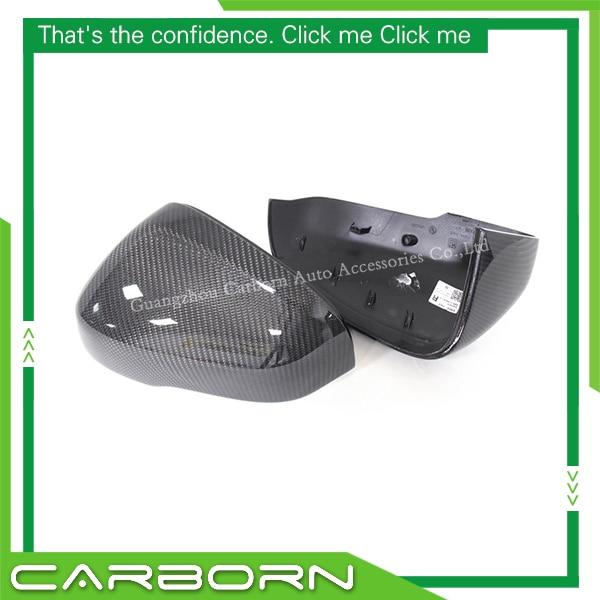 For Volvo V40 V60 S60 2011 ON 1 1 OEM Replacement Type Gloss Black Carbon Fiber