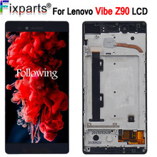 купить For Lenovo VIBE SHOT Z90 Z90-7 LCD Display Touch Screen Digitizer Assembly With Frame For 5.0