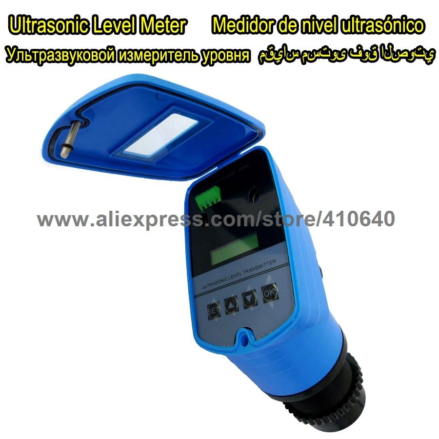 Ultraheli taseme seade Ultraheli veetaseme mõõtemuundur integreeritud ultraheli taseme mõõtja tehasest