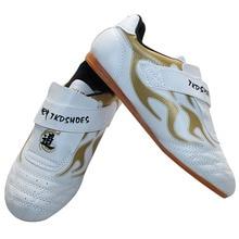 Продвижение таэквондо обувь, дышащая кунг-фу Тай Чи обувь для взрослых и детей каратэ обувь