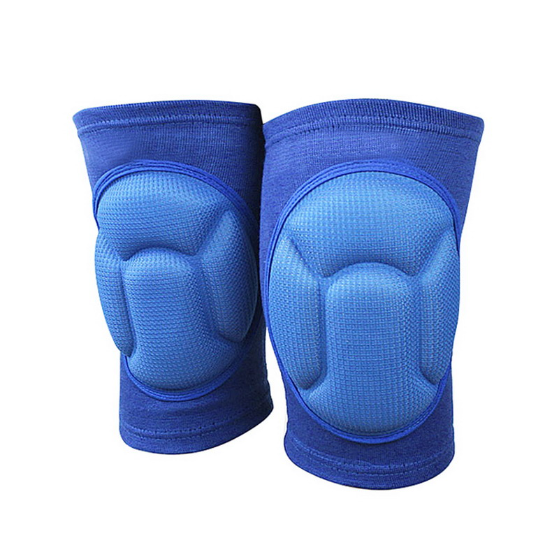 New Thickening Knee Brace of Volleyball Football Sports Knee Protector Pad Eblow Protect Cycling Back Support Belt VES59 T28