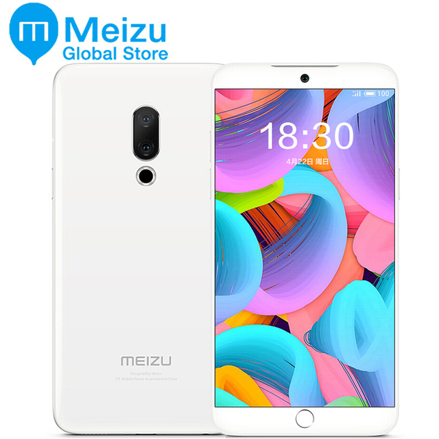"Original Meizu 15 Snapdragon 660 4GB 128GB Octa Core 5.46"" 4G LTE SmartPhone 1920x1080P Screen Fingerprint ID Fast charger"