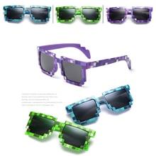 Unisex Hot Sunglasses Trendy Glasses With Children Gift New Vintage Square Novelty Mosaic Sun