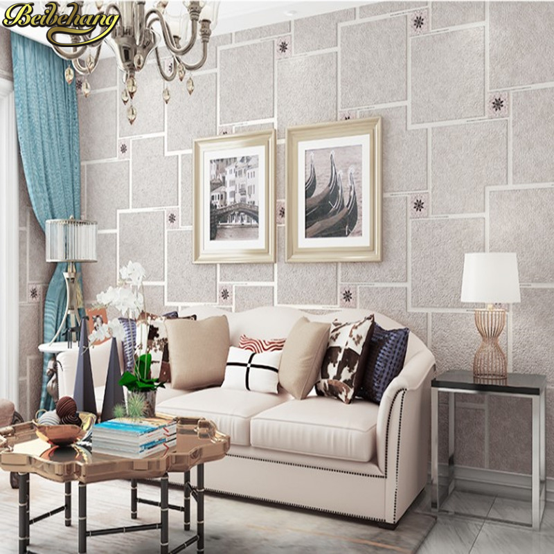 beibehang walls New Modern 3D Wallpapers For Living Room Bedding Room Wall Paper Roll For Walls Tapety papel de parede roll home improvement decorative painting wallpaper for walls living room 3d non woven silk wallpapers 3d wall paper retro flowers