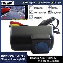 Fuwayda CCD HD Автомобильная камера заднего вида автостоянка резервная камера заднего вида ночного видения Водонепроницаемый для Ford Transit Connect