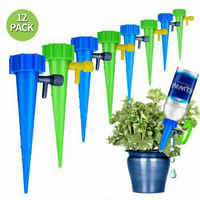12Pcs Plant Self Watering Adjustable Stakes System Vacation Plant Waterer Self Automatic Watering Spikes droshipping