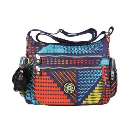 New design nylon fashion girl's messenger bag monkey bag Brand of women's shoulder  bag Free shipping