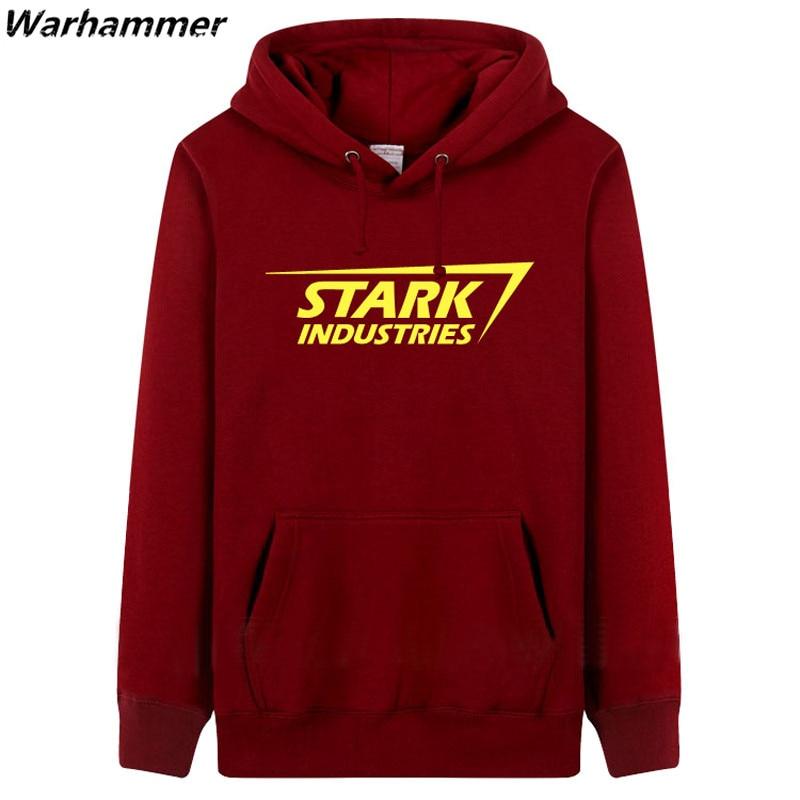 STARK INDUSTRIES Heren Hoodie Sweatshirts mode-stijl dikke fleece - Herenkleding - Foto 3