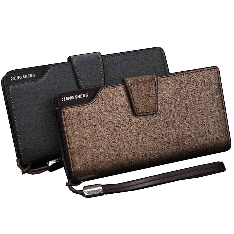 New Fashion Men Wallet Leather Brand Wallets Men Wholesale Male long Purse High Capacity Business Clutch Bag for Men Gift fantasy mannheim