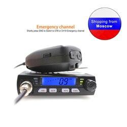 Новый ANYSECU мини Mobie радио CB-40M 25,615-30,105 МГц 10 м любительский 8 Вт AM/FM Citizen Band CB радио AR-925