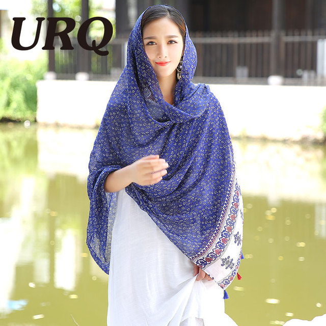 bohemina hijab foulard tassel lady scarfs winter shawl tassel scarf women from india shawl scarves pashmina cotton voile scarf