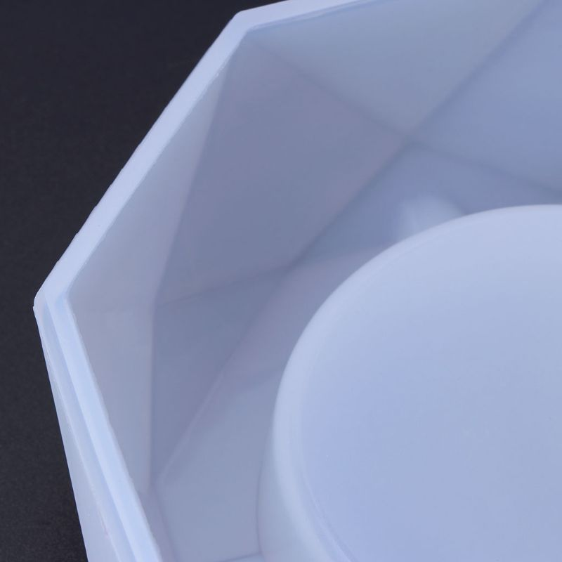 DDARK Silicone Mold Craft Ashtray Epoxy Resin Plaster Cement DIY Jewelry Making Cake