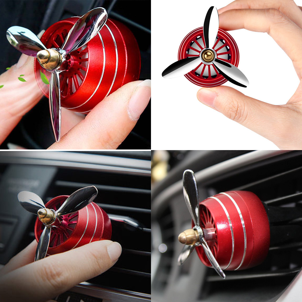 Image 4 - Air Freshener Car Smell LED Mini Conditioning Vent Outlet Perfume Clip Fresh Aromatherapy Fragrance Alloy Auto Cars Accessories-in Air Freshener from Automobiles & Motorcycles