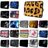 Universal 14 Inch Notebook Zipper Inner Cases For HP Chromebook 14 Unisex Leopard Laptop 14 1