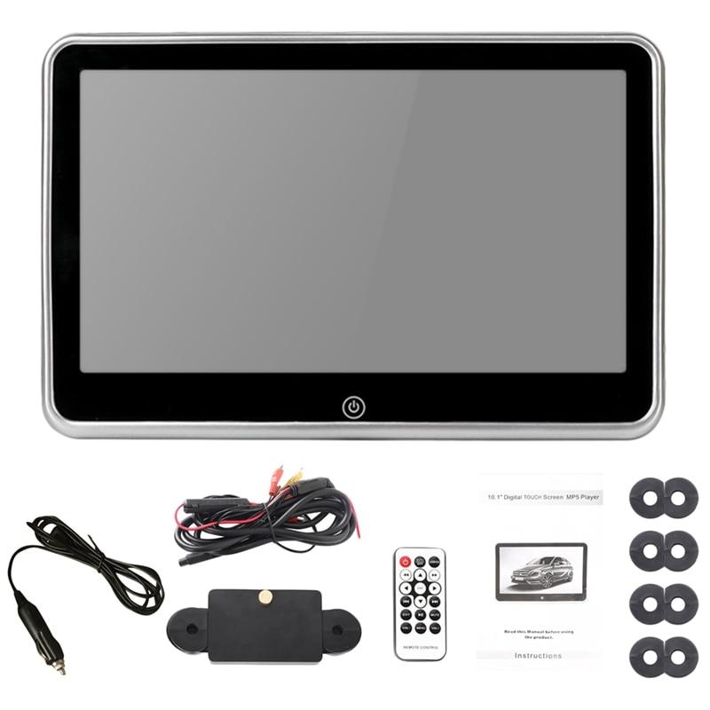 10.1 Inch Car Headrest Player Fm Bluetooth Portable Press Screen Monitor For Car Kids|Radio| |  - title=