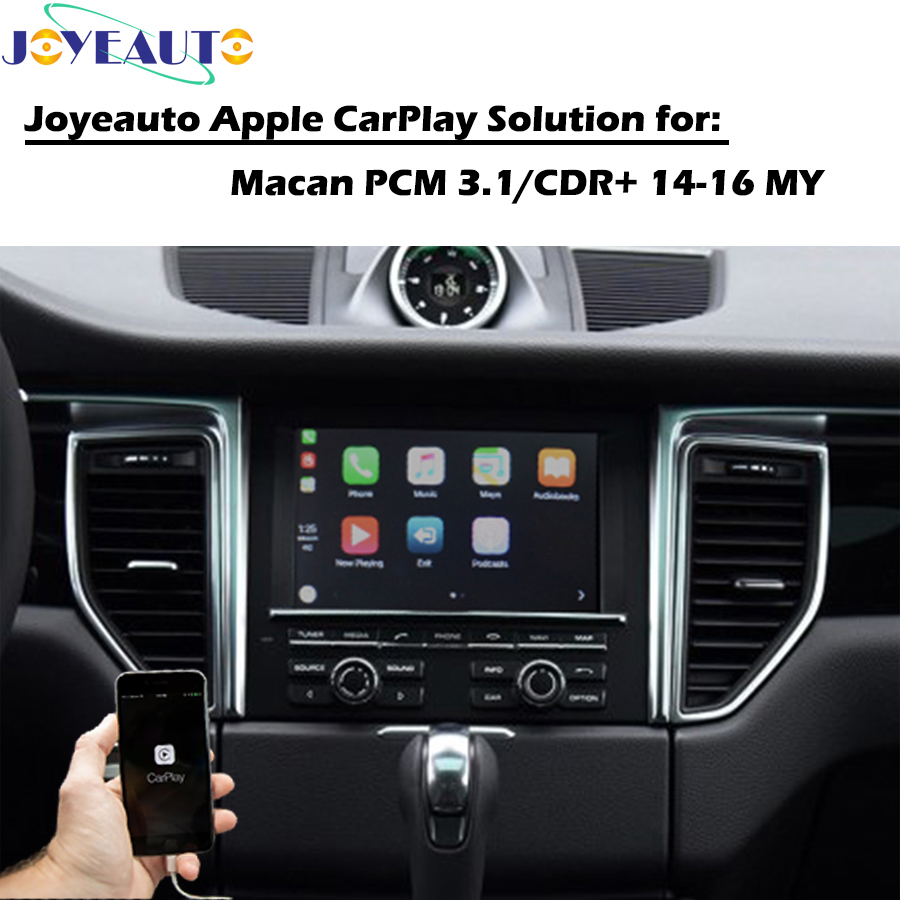 US $377 46 19% OFF|ZHOYITO Aftermarket OEM Smart Auto Apple CarPlay  Multimedia Box Upgrade Retrofit for 2014 2016 Porsche Macan PCM3 1 CDR Plus  -in