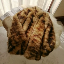 2018 New Style High-end Fashion Women Faux Fur Coat S49