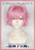 My Hero Academia Cosplay Wig Ashido Mina Boku no Hero Academia Pink Short Synthetic Hair for Adult