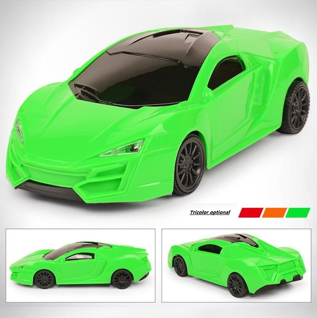 Children Electric Toy Remote Control Car Toy Four Links 3d Light