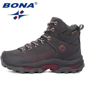 Image 3 - BONA New Popular Style Women Hiking Shoes Outdoor Explore Multi Fundtion Walking Sneakers Wear Resistance Sport Shoes For Women