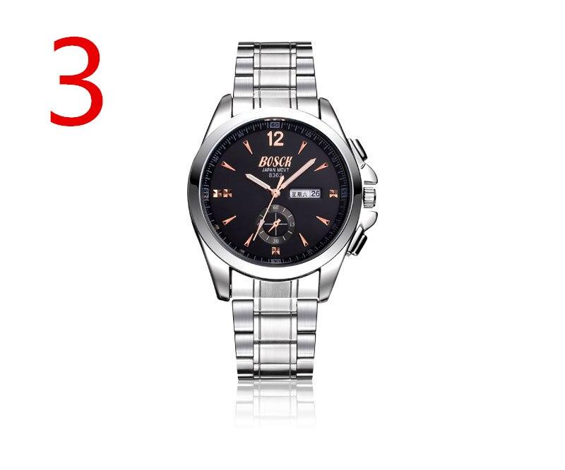 wu's Men's watch leather belt fashion simple student waterproof calendar watch Korean watch цена и фото