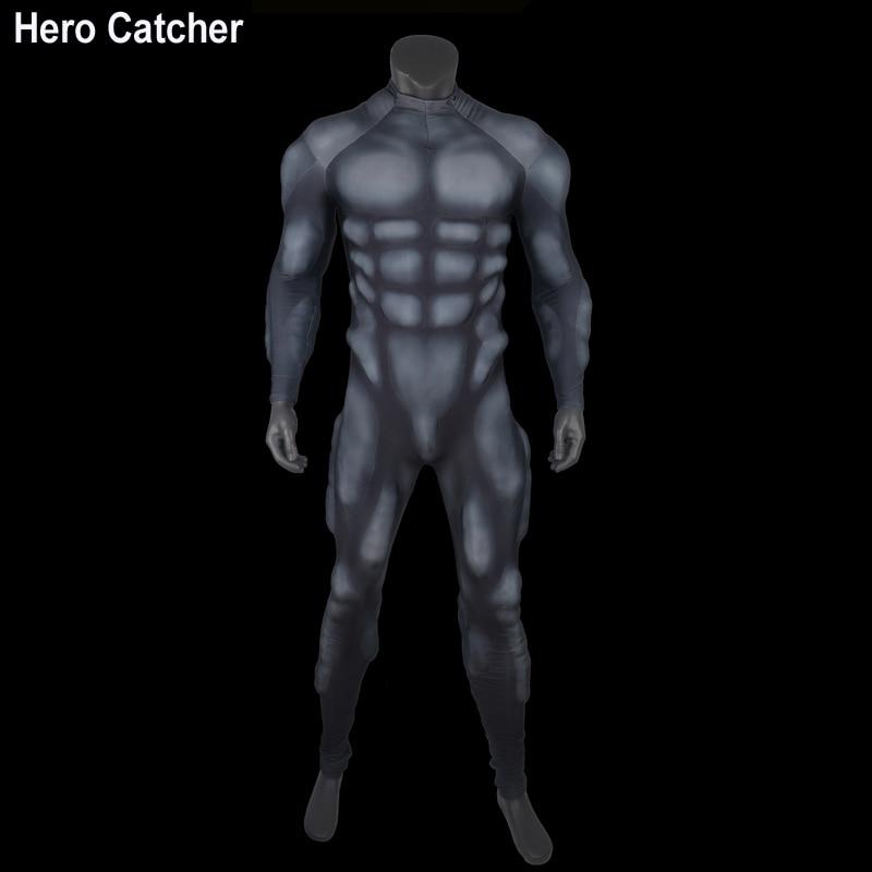 Hero Catcher 4 High Quality Black Muscle Suit Foam Padding Inside Muslce Suit