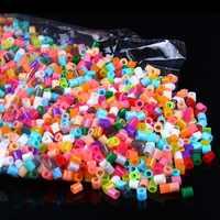 1000 sztuk/paczka 2.6 MM kolorowe HIGHGRADE hama koraliki koraliki perler hama bezpiecznik koraliki dla dzieci zabawki edukacyjne diy Craft kolor uwagi