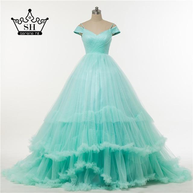 2017 Peach Color Quinceanera Dress Ball Gown Ruffles Organza ...