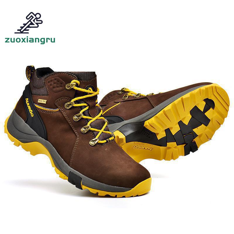 High Quality Men Hiking Shoes Waterproof Mountain Climbing Shoes Outdoor Hiking Boots Trekking Sport Sneakers Women Hunting Shoe цена