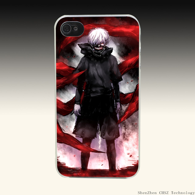 Tokyo Ghouls Hard Transparent Cover for iPhone