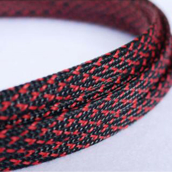 1-30Meters 3-50mm Black & Red Snakeskin Mesh Wire Protecting Nylon Tight PET Expandable Insulation Sheathing Braided Sleeves - sale item Electrical Equipment & Supplies