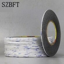 SZBFT 1 мм черный Фирменная Новинка 3M Стикеры двусторонняя клейкая лента для фиксации для мобильного телефона Сенсорный экран ЖК-дисплей