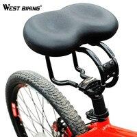 West Fietsen Fiets Zadel Ergonomisch Zadels Gewatteerde Noseless Zadel Fietsen Bike Soft Zitkussen Pad Fiets Zadels Seat