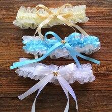 Сексуальный косплей свадебный подарок аксессуары кружева ноги Подвязки Пояс Свадебные вечерние подвязка на бедро