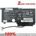 Genuino original batería Del Ordenador Portátil para Toshiba Satellite L500 L55t L50 L50-A P55 P50 PA5107U-1BRS 14.4 V 43WH 2838 mah S55 baterías