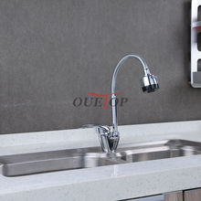 Free Shipping Brass Kitchen faucet Mixer Cold and Hot Kitchen Tap Single Hole Water Tap torneira cozinha Sink Mixer Tap Grifo
