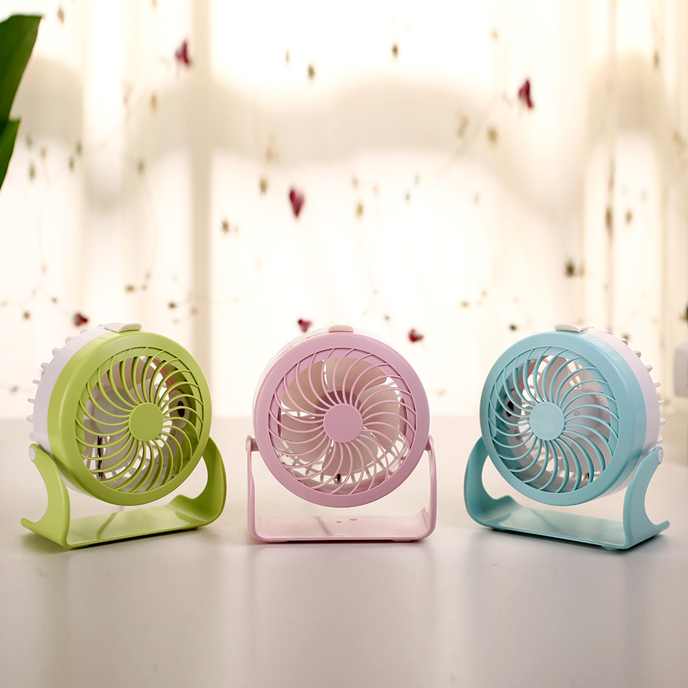 Portable mini USB super silent fan, creative home table, ABS aromatherapy fan, mute desktop, aromatherapy water mist fan